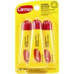 Carmex Classic Lip Balm Medicated Набор лечебных бальзамов для губ в тюбиках Original 3 шт. по 10 г