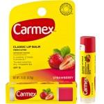 Carmex Classic Lip Balm Medicated Stick SPF 15 Strawberry Лечебный бальзам для губ в стике SPF 15 Клубника 4.25 г
