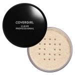 CoverGirl Clean Professional Loose Powder  Финишная рассыпчатая пудра для нормальной кожи оттенок 105 Translucent Fair 20 г