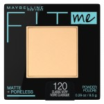Maybelline Fit Me Matte + Poreless Powder Makeup Компактная матирующая пудра оттенок 120 Classic Ivory