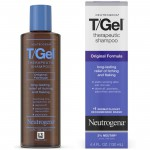 Neutrogena T/Gel Therapeutic Shampoo Original Formula Терапевтический шампунь от перхоти, зуда и псориаза 130 мл