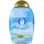 OGX Gravity-Defying & Hydration + O2 Shampoo Увлажняющий шампунь с кислородом и маслом морошки 385 мл