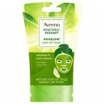 Aveeno Positively Radiant MaxGlow Peel off Face Mask  Маска-пилинг для лица 10 г (саше)