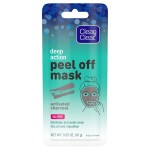 Clean & Clear Activated Charcoal Peel Off Mask Маска-пилинг с активированным углем 10 г