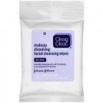 Clean & Clear Makeup Dissolving Facial Cleansing Wipes Салфетки для снятия макияжа, 7 шт.