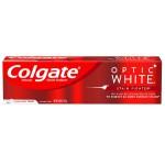 Colgate Optic White Stain Fighter Anticavity Fluoride Toothpaste Clean Mint Отбеливающая зубная паста для удаления пятен 119 г