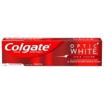 Colgate Optic White Stain Fighter Anticavity Fluoride Toothpaste Clean Mint Отбеливающая зубная паста для удаления пятен 170 г
