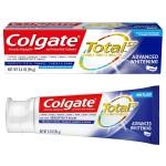 Colgate Total SF Advanced Whitening Toothpaste Отбеливающая зубная паста 96 г