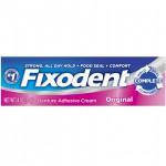 Fixodent Complete Denture Adhesive Cream Original Клейкий крем для зубных протезов 39 г