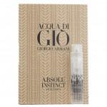Giorgio Armani Acqua Di Gio Absolu Instinct Eau De Parfum Парфюмерная вода для мужчин 1.2 мл (пробник)