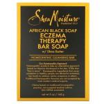 Shea Moisture African Black Soap Eczema Therapy Африканское черное мыло для лечения экземы 142 г