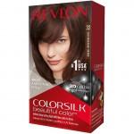 Revlon ColorSilk Beautiful Color Стойкая краска для волос оттенок 32 Dark Mahogany Brown (3RB Темно-каштановый махагон)