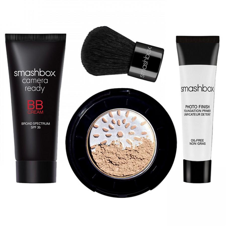 Smashbox try it kit: bb + halo набор декоративной косметики fair самый светлый купить в украине, киеве, харькове, одессе, запоро.
