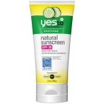 Yes To Cucumbers Natural Sunscreen SPF 30  Солнцезащитный крем 85 г