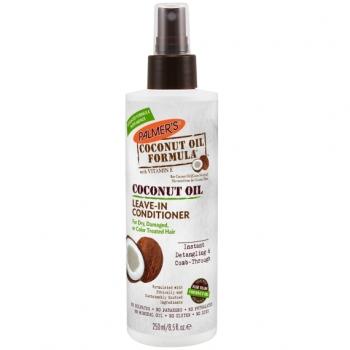 Palmer's Coconut Oil Formula Leave in Conditioner Укрепляющий несмываемый кондиционер с кокосовым маслом 250 мл