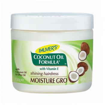 Palmer's Coconut Oil Formula Moisture-Gro Shining Hairdress Увлажняющее средство для ухода / защиты волос с кокосовым маслом 150 г