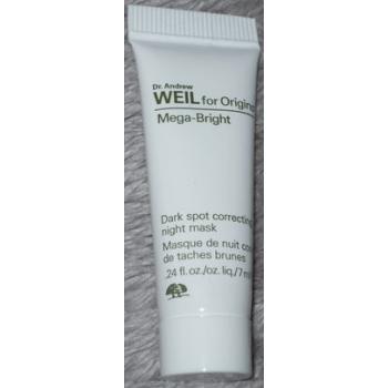 Origins Mega-Bright Dark Spot Correcting Night Mask Ночная маска для коррекции пигментных пятен 7 мл (миниатюра)