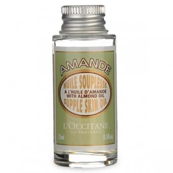 L'Occitane Almond Supple Skin Oil Смягчающее масло для тела Миндальное 15 мл