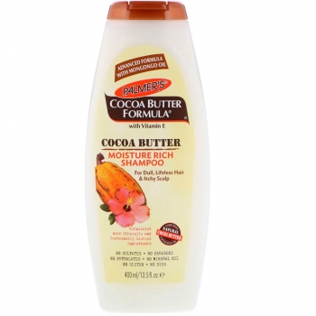 Palmer's Cocoa Butter Formula Moisture Rich Shampoo  Увлажняющий шампунь с  маслом какао 400 мл