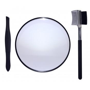 Measurable Difference 3 Piece Tweezer Combo Set Комбинированный набор с увеличивающим зеркалом
