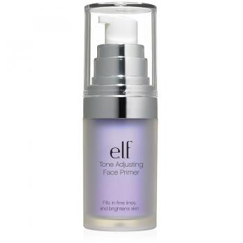 e.l.f. Studio Mineral Infused Face Primer Праймер оттенок Tone Adjusting Brightening Lavender Яркий лавандовый
