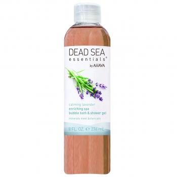 "AHAVA Dead Sea Essentials Calming Lavender Enriching Spa Bubble Bath & Shower Gel Пена для ванны / Гель для душа ""Лаванда"" 236 мл"