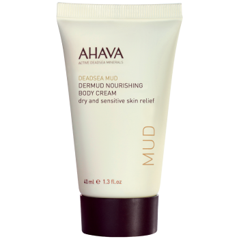AHAVA Deadsea Mud Dermud Nourishing Body Cream Крем для тела питательный 40 мл