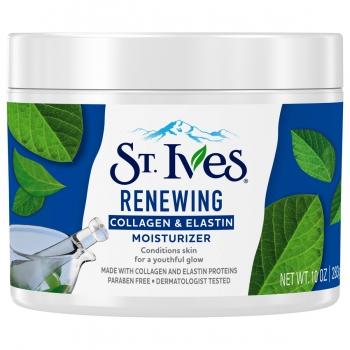 St. Ives Renewing Collagen Elastin Moisturizer Антивозрастной увлажняющий крем для лица с коллагеном и эластином 283 г