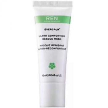 REN Evercalm Ultra Comforting Rescue Mask Успокаивающая увлажняющая маска для лица 10 мл (миниатюра)