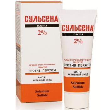 Сульсена Паста против перхоти 2% (лечебно-профилактическая) 75 мл