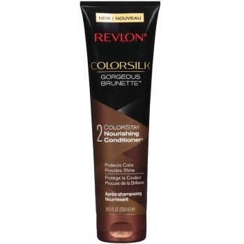 Revlon ColorSilk ColorStay Nourishing Conditioner Питательный кондиционер для защиты цвета окрашенных волос (для брюнеток) оттенок Gorgeous Brunette (Великолепная Брюнетка) 250 мл