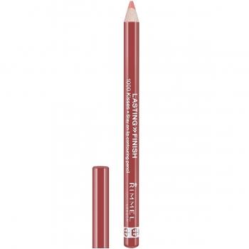 Rimmel Lasting Finish 1000 Kisses Lip Pencil Стойкий карандаш для губ оттенок 081 Spiced Nude