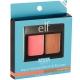 e.l.f. Aqua Beauty Aqua - Infused Blush & Bronzer Палетка румяна / бронзер оттенок Bronzed Peach