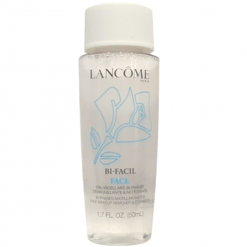 Lancome Bi-Facil Face Makeup Remover Двухфазный лосьон для снятия макияжа 50 мл (миниатюра)