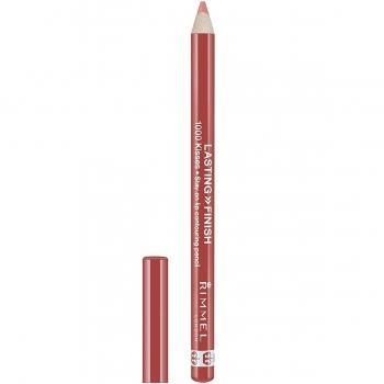 Rimmel Lasting Finish 1000 Kisses Lip Pencil Стойкий карандаш для губ оттенок 080 Blushing Nude