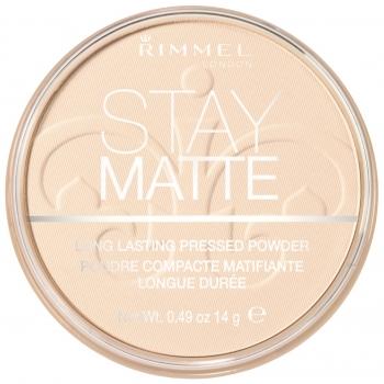 Rimmel Stay Matte Pressed Powder Матирующая пудра оттенок 003 Natural