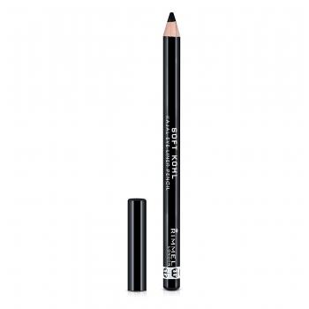 Rimmel Soft Kohl Kajal Eye Liner Pencil Карандаш для глаз оттенок 061 Jet Black