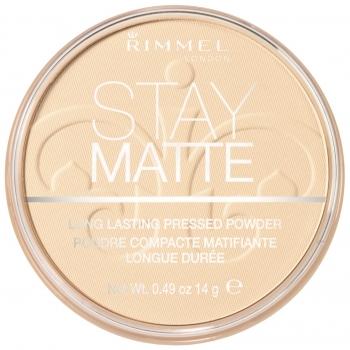 Rimmel Stay Matte Pressed Powder Матирующая пудра оттенок 004 Sandstorm