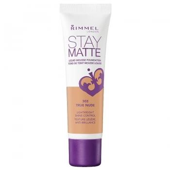 Rimmel Stay Matte Liquid Mousse Foundation Матирующий тональный крем оттенок 303 True Nude