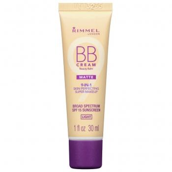Rimmel BB Cream 9-in-1 SPF 15 Matte Матирующий BB-крем оттенок Light