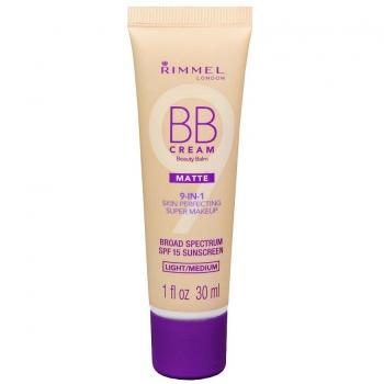 Rimmel BB Cream 9-in-1 SPF 15 Matte Матирующий BB-крем оттенок Light/Medium