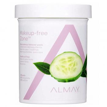 Almay Oil Free Gentle Eye Makeup Remover Pads Диски для снятия макияжа с глаз без масла, 80 шт.