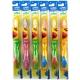 Crest Kids Sesame Street Soft Toothbrush Детская зубная щетка мягкая, фиолетово-розовая