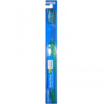 Well at Walgreens SmartGrip Full Head Toothbrush, Soft Bristles Зубная щетка мягкая, зелёная