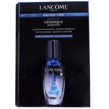 Lancome Advanced Génifique Sensitive Dual Concentrate Концентрат активатор молодости двойного действия 4 мл (миниатюра)