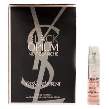 Yves Saint Laurent Black Opium Nuit Blanche Eau De Parfum Парфюмерная вода 1.2 мл (пробник)