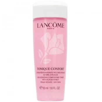 Lancome Tonique Confort Re-Hydrating Comforting Toner Увлажняющий тоник для сухой кожи 50 мл (миниатюра)