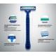 Gillette Sensor 3 Simple Men's Disposable Razor Мужские одноразовые станки для бритья, 4 шт.