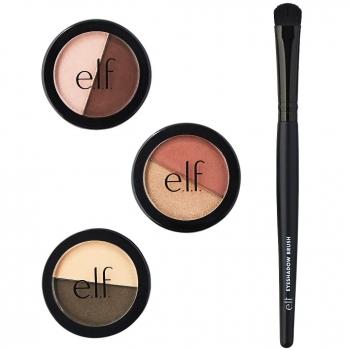 e.l.f. Eyeshadow Duo Set Набор тени для век + кисть для теней