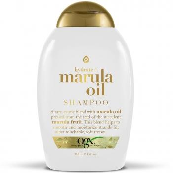 OGX Hydrate + Marula Oil Shampoo Увлажняющий шампунь с маслом марулы 385 мл